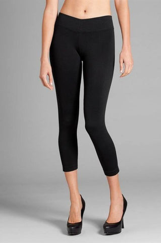 Capri Leggings - Charcoal