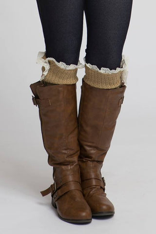 Button Boot Socks