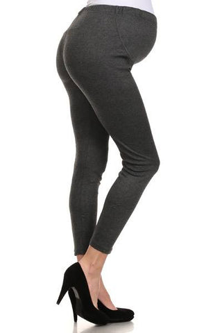 Maternity Leggings In Charcoal