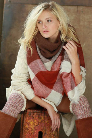 The Marsala Scarf