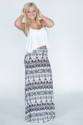 The Hourglass Maxi Skirt