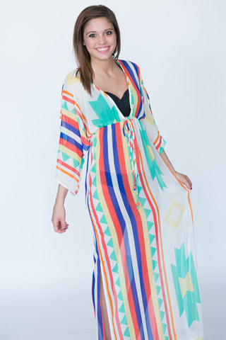 The Calypso Cover Up Maxi