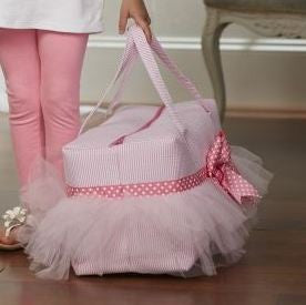 Tulle Duffle Bag
