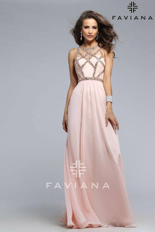 The Soft Peach Gown