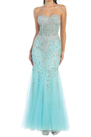 Aqua Mermaid Formal - 6