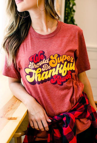 Thankful Always Tee