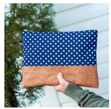 The Charlie Dot Zip Pouch
