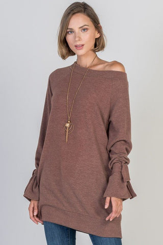 The Britlee Bell Tunic in 2 Colors