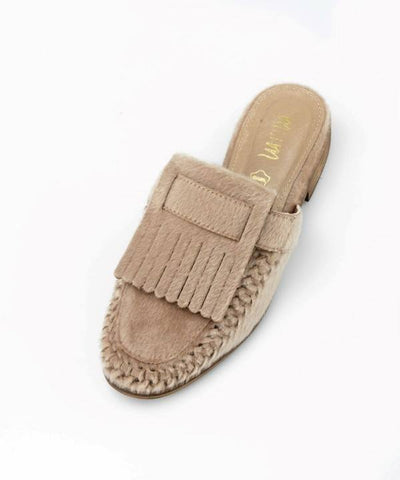 The French Loafer Slides