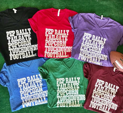 Pep Rally Tee-2 Colors
