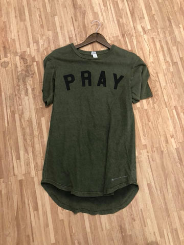The Scooped Pray Tee