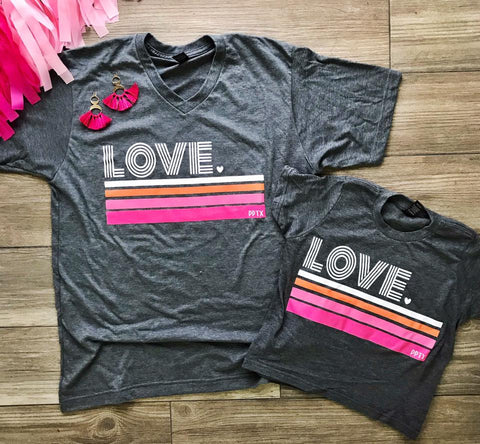 Mini Love Retro Tee