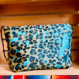 Hair on Hide Toiletry Bag-2 Styles