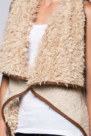 The Reversible Shearling Vest