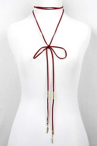 Lariat Choker Necklace