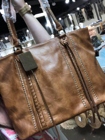 Ashley's Market Purse in Tan