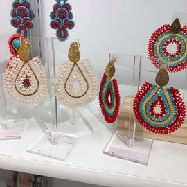 The Mariana Earrings in 5 Colors
