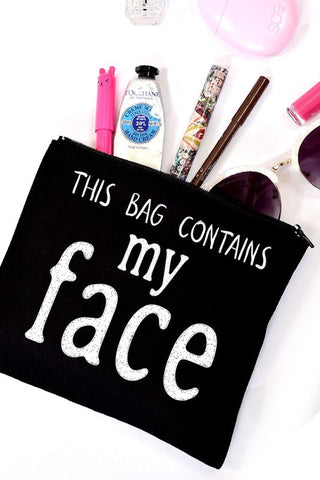My Face Cosmetic Bags