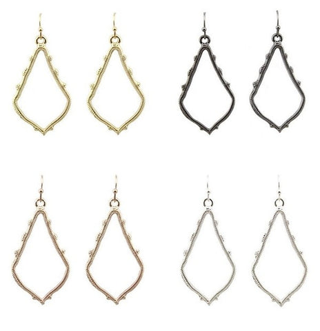 The Trend Earrings-4 Colors