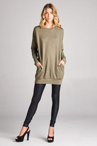 The Holden Elbow Patch Tunic-3 Colors