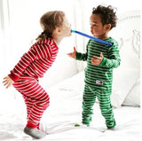 Mini Holiday Striped Pj's-2 Colors