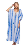 The Blue Bird Maxi Cover-Up