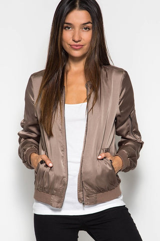The Satin Style Jacket - 2 colors