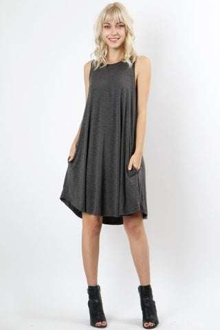The Tank Swing Dress-3 Colors
