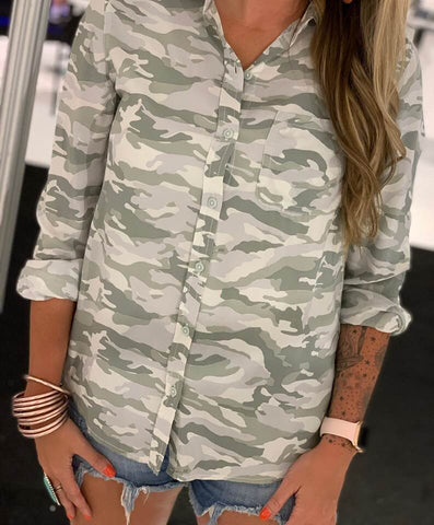 The Filtered Camo Top