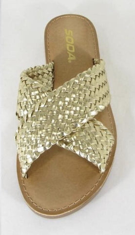 The AB Gold Sandals