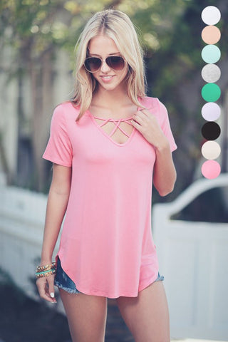 The Coral Chic Tee