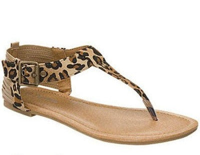 The Leopard Sandals