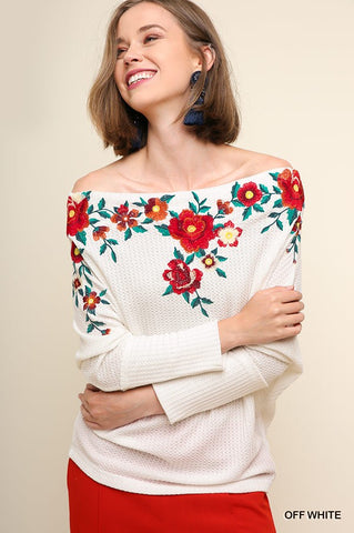 The Floral Fiona Sweater