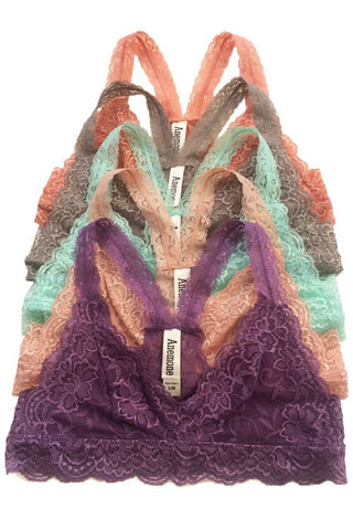 Lace Lover Bralette-3 Colors