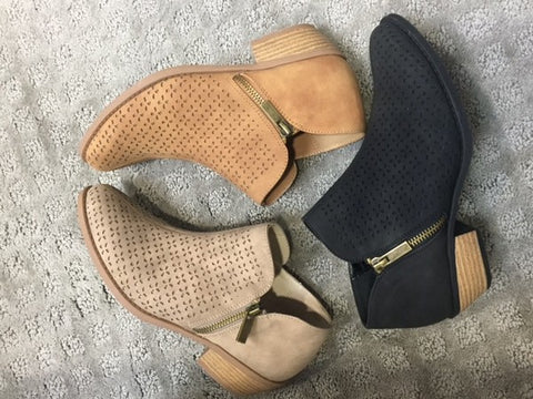 The Lotus Booties-3 Colors