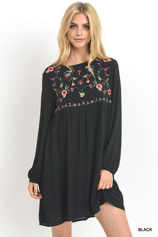 The Embroidered Holiday Dress