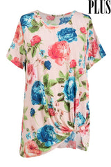 The Curvy Floral Top