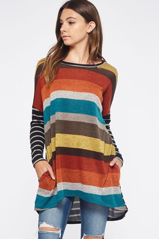 The Mix & Match Stripe Tunic
