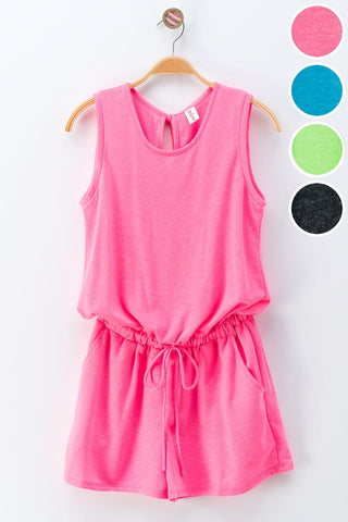 The Basic Summer Romper in 2 Colors