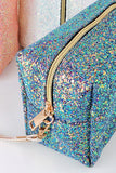The Glitter For Days Cosmetic Bag-2 Colors