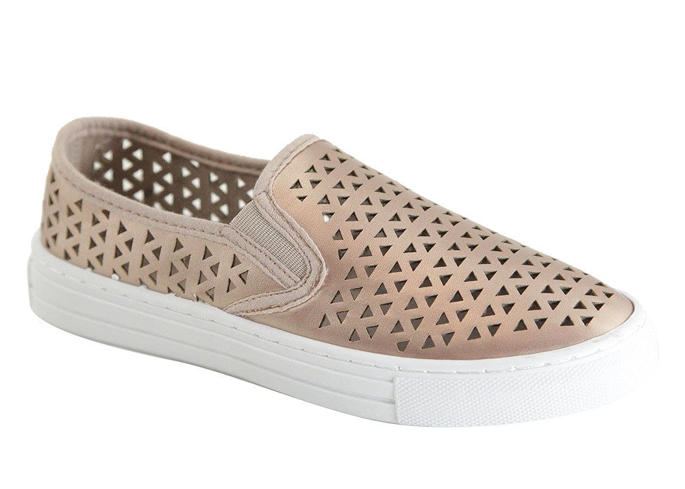 The Rose Gold Cutout Sneaks