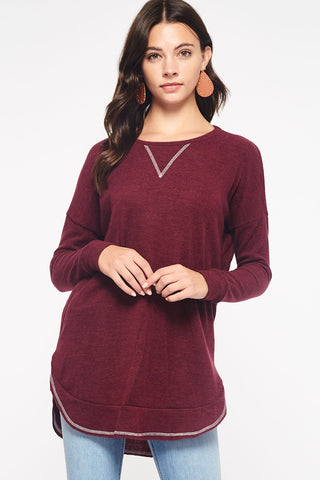 The Fall 2Tone Top-2 Colors