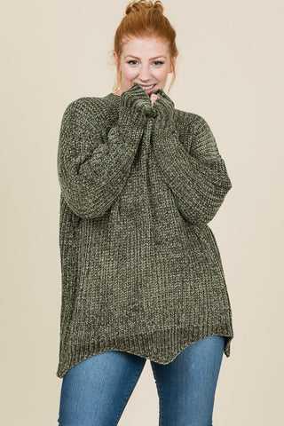 The Laken Plus Sweater-3 Colors