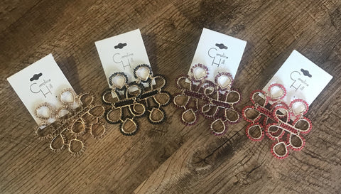 The Rae Earrings-4 Colors