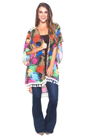 The Party Python Kimono