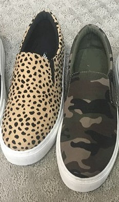 The Milo Sneakers-Camo and Cheetah