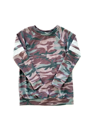 The Polly Camo Mini Top