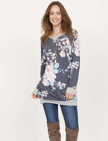 The Vintage Floral Pullover