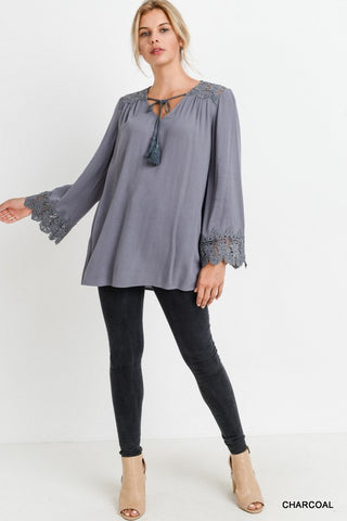 The Sunday Blouse-2 Colors