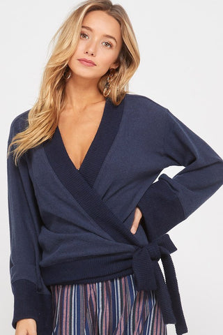 The Patsy Wrap Top